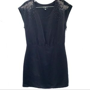 Agua Cocktail Studded Dress